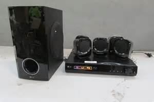 Home Theater 5 1 Satelite Lg lg home theatre system model bh4120 s 5 satellite 1 sub woofer auction 0266 5008087
