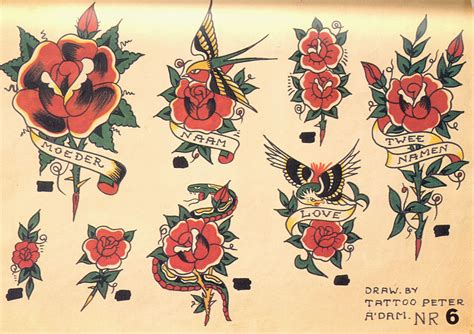 old traditional tattoo designs methodology