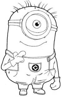 despicable me coloring pages for despicable me coloring pages cakes transfer