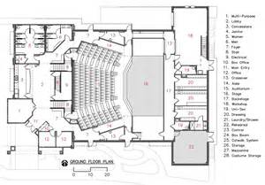 floor plan theater camelot theatre bruce richey architect aia leed ap bd c archinect