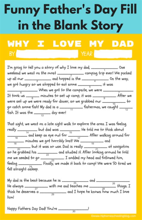 s day story free father s day printable gift ideas infarrantly creative