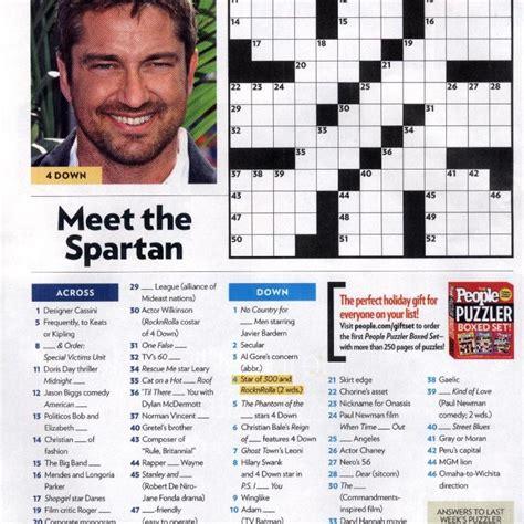 Magazine Crossword Puzzles Printable magazine crosswords