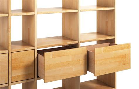 bücherwand eiche regalsystem naturholz bestseller shop f 252 r m 246 bel und