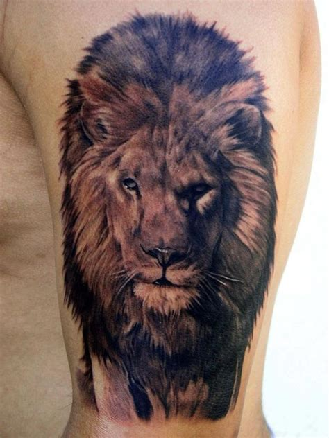 tattoo animal lion tattoo blog 187 animal tattoo pictures