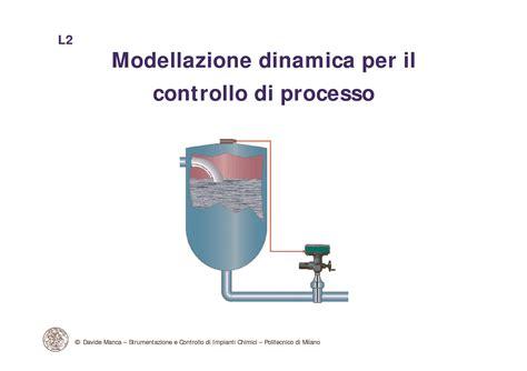 impianti chimici dispense controllo di processo modellazione dinamica dispense