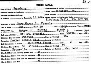 Wayne County Birth Records The Reinvention Of The Alleged Vermont And New Hshire Abenakis St Francis Family