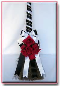 How To Decorate A Broom For A Wedding by Wedding Broom Decorating Ideas