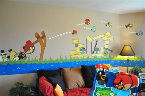 angry birds bedroom 10 real life video game room decors that ll amaze you