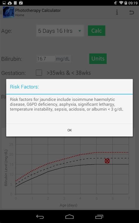 calculator level 44 phototherapy calculator android apps on google play