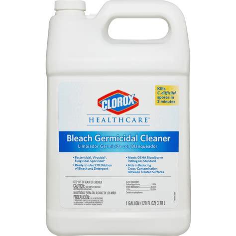 clorox healthcare bleach germicidal cleaner refill  fl oz walmartcom walmartcom