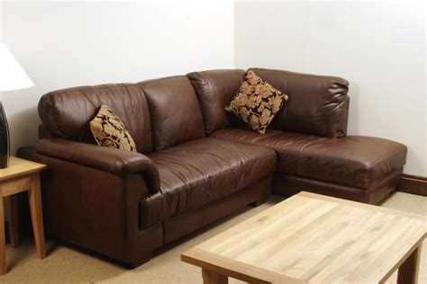leather corner couch aniline leather corner sofa oak furniture solutions