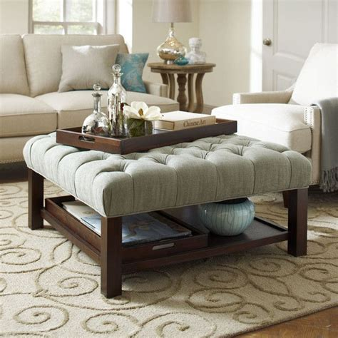 teal ottoman coffee table ottoman and coffee table combo the coffee table