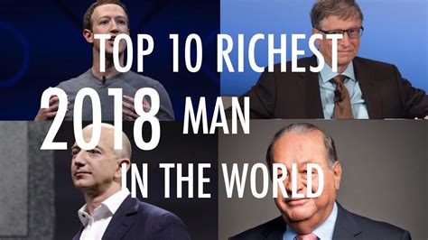 top 10 richest in the world 2018