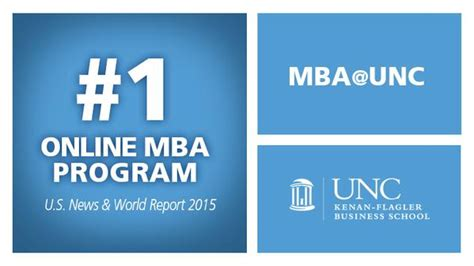 Mba Program Ranks 5 In The Nation by U S News World Report Ranks Mba Unc No 1 Mba Unc