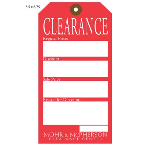 Dijamin Clear St Hanging Tags tag furniture home design ideas and pictures