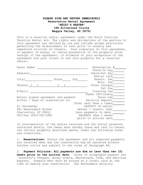 15 short term rental agreement templates pdf doc free