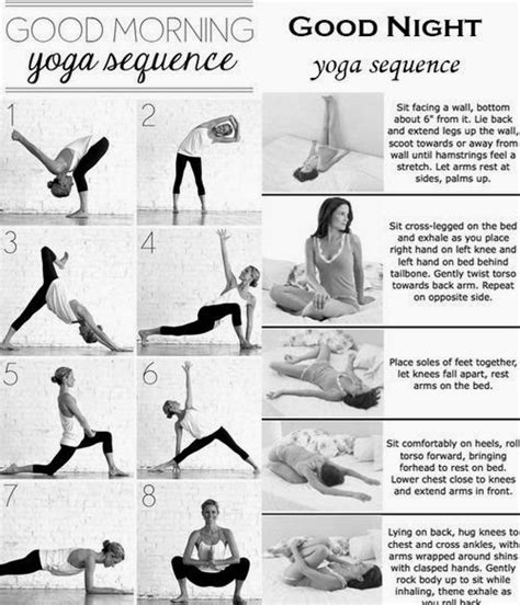 before bed stretches good morning good night yoga sequence popular pins on