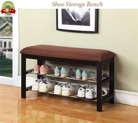 bedroom shoe storage shoe storage bench wooden hallway furniture bedroom