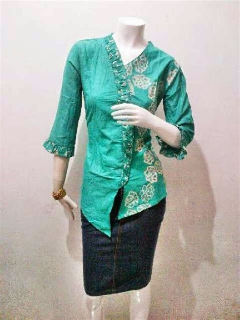 pin by batik bagoes on blouse batik