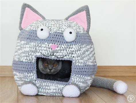 crochet pattern cat cave best 25 crochet cat beds ideas on pinterest