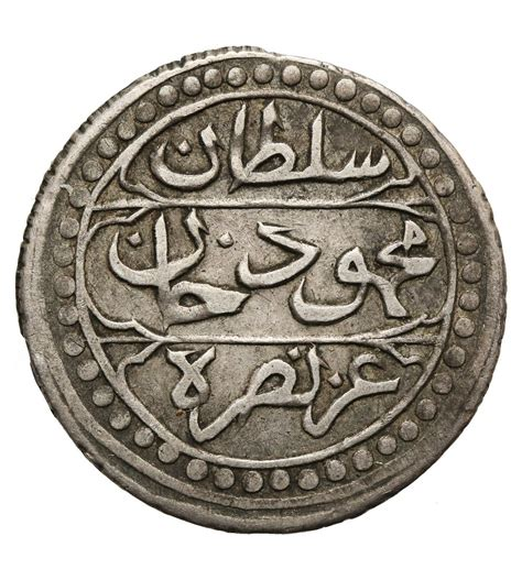Empire Ottoman En Algerie by Ottoman Empire Algiers 1 4 Budju 6 Mazuna Ah 1242 1826 Ad