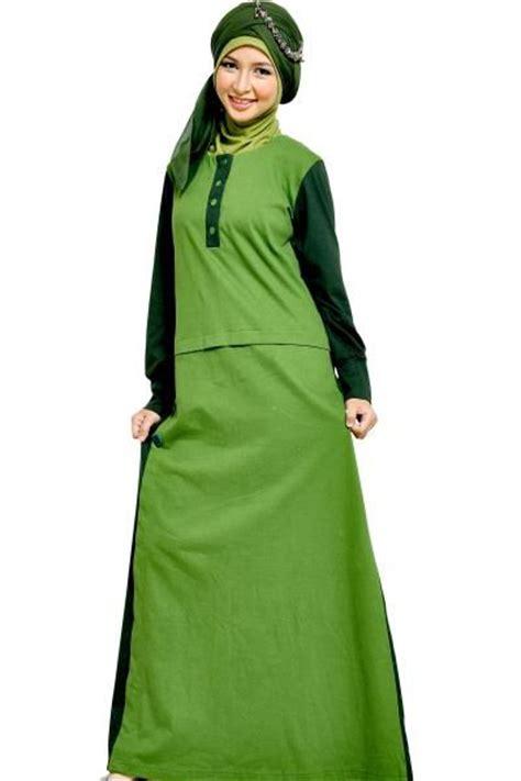 Baju Gamis Warna Coklat Susu   Gamis Murni