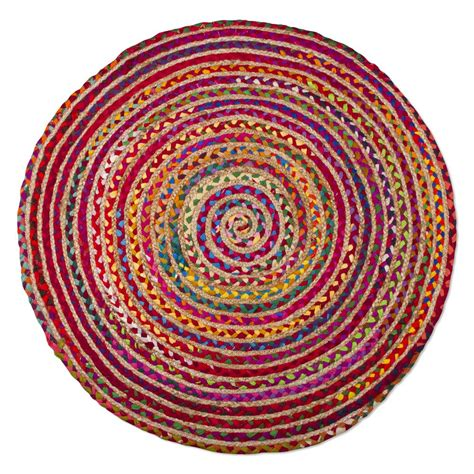tag rugs tag bari chindi multi 3 ft x 3 ft accent rug tag206926 the home depot