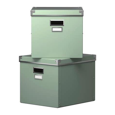 billy regal 38 cm tief ikea kassett boxen mit deckel gr 252 n 2 st 252 ck 33x38x30cm