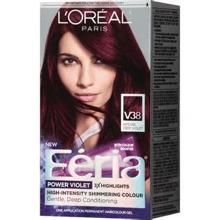 feria hair color purple feria high intensity shimmering colour power violet v38