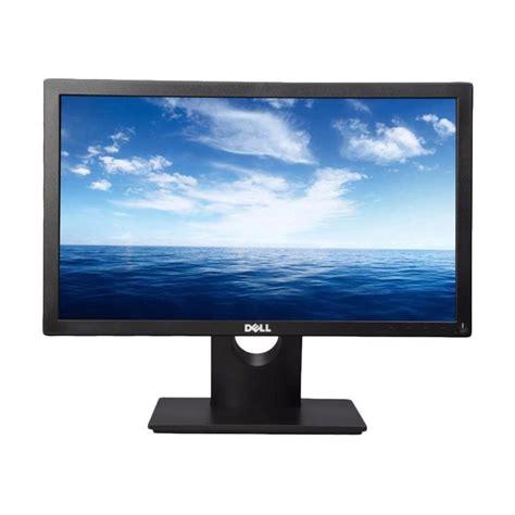 Dell Led Monitor E1916hv 18 5 Inch jual dell e1916hv led monitor hitam 18 5 inch