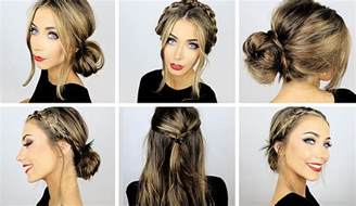 heatless hair styles 5 easy heatless hairstyles for work school danielle