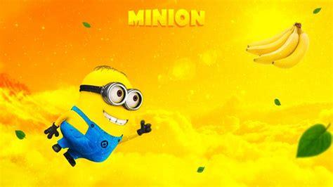 imagenes fondo de pantalla minions minion banana fondos de pantalla hd fondos de