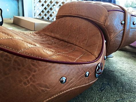 motorcycle seat upholstery brisbane is a leather seat better than vinyl motorbike writer
