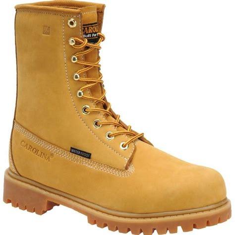 carolina shoes carolina 8 in insulated waterproof steel toe work boots