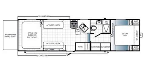 puma toy hauler floor plans wantfacts com recreationalvehicle 2015 palomino