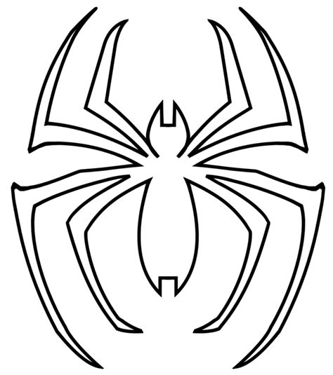 spiderman symbol coloring page spidey symbol by saiturtlesninjanx on deviantart