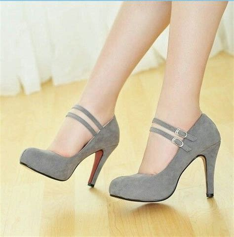 pretty high heel shoes pictures grey heels wedding ideas