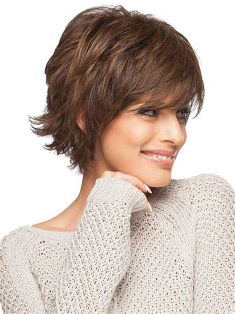 shoulder length hair feathered on the sides the sides 20 feather cut hairstyles for long medium and short hair