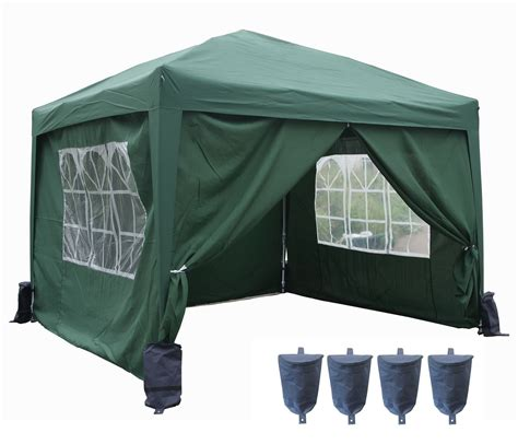 gartenpavillon 3x3 wasserdicht pop up pvc garden gazebo waterproof 3 x 3m folding