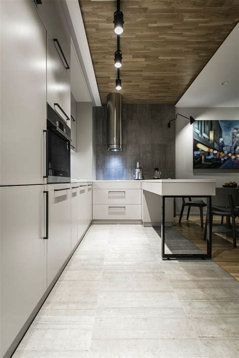 concrete floor apartment contemporary apartment in kiev