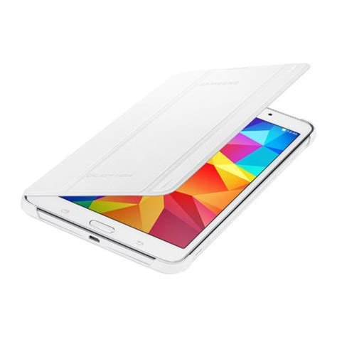 Book Cover For Galaxy Tab 4 7 0 official samsung galaxy tab 4 7 0 book cover white