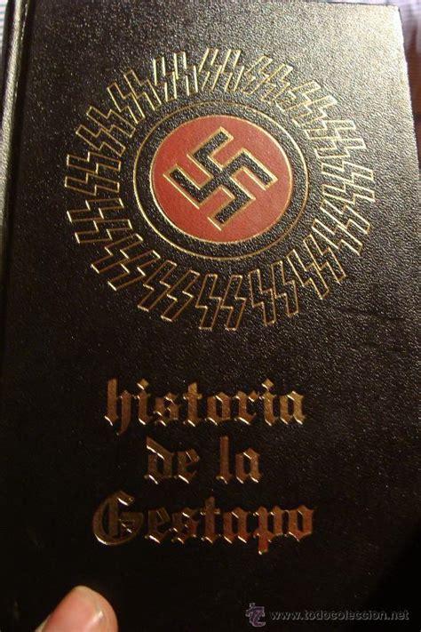 libro historium libro historia de la gestapo tomo 2 comprar libros de la segunda guerra mundial en