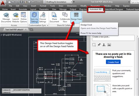 design center window autocad your autocad 2014 design feed palette doesn t update