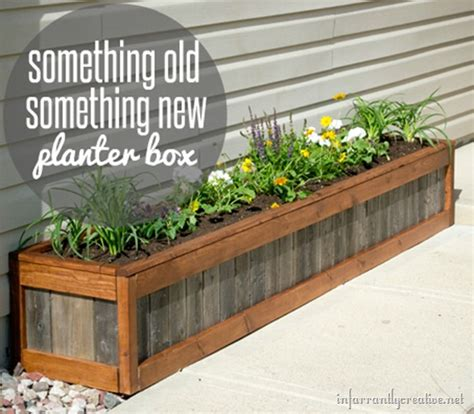planter box diy something something new planter box