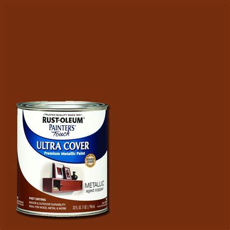 home depot paint quart price rust oleum 258203 painters touch quart based metallic