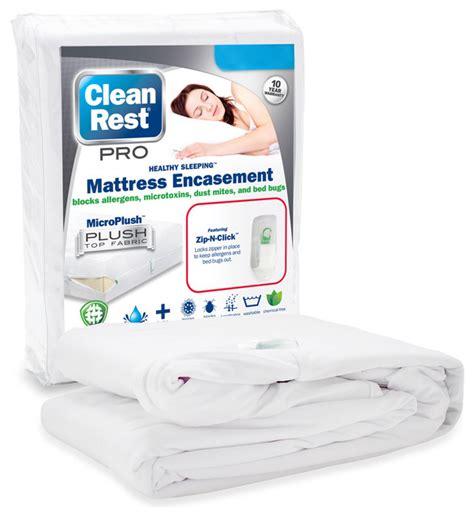 Clean Rest Mattress Encasement by Cleanbrands Llc Cleanrest Pro Mattress Encasement