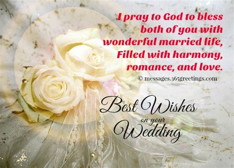 Wedding Congratulation Words by Wedding Wishes And Messages 365greetings