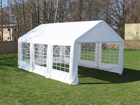 pavillon 4x6m partyzelt festzelt pavillon pe 4x6m 6x4m gartenzelt zelt