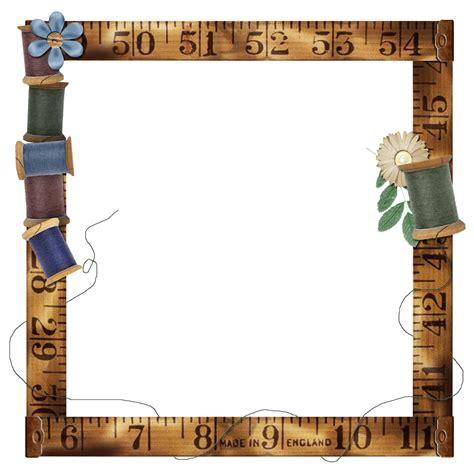 Frame Scrapbook enchanted s elements free sewing square digi