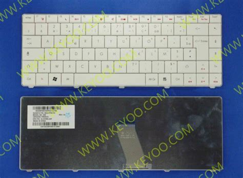 Keyboard Laptop Acer Emachines D725 acer emachines d525 d725 4332 4732z ms2268 white fr layout keyboard 9j n1r82 a0f aez06f00010
